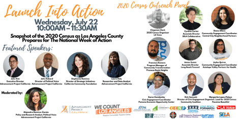 Launch to Action – Advancement Project and We Count LA Co-conveners